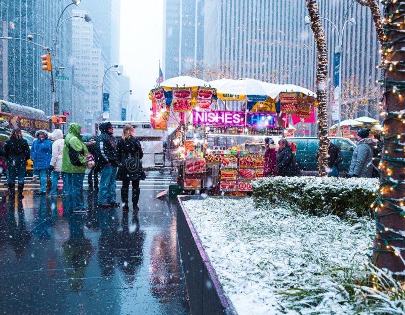 New York, unisce gli stati - nono dicembre, 2017 fotografia stock
