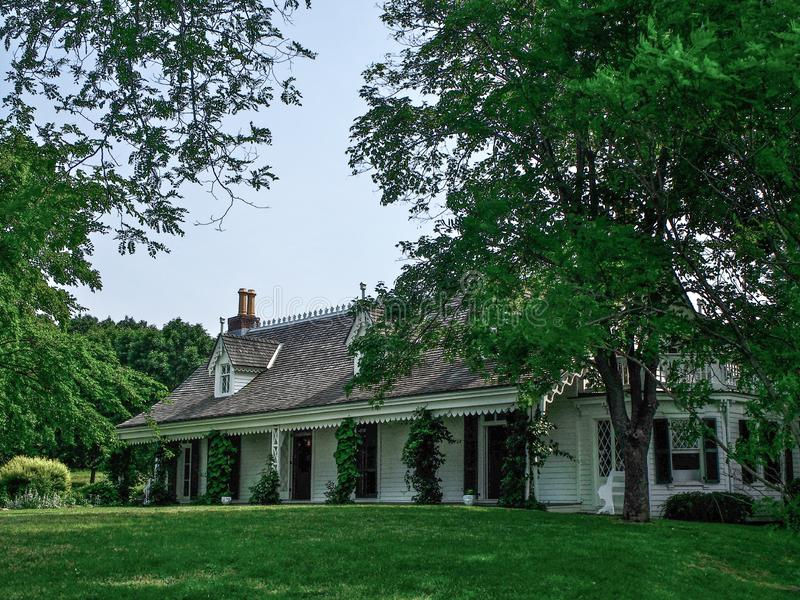 New York - United States, Alice Austen House in Staten Island. New York - United States, June 11, 2015 -Alice Austen House in Staten Island royalty free stock photos