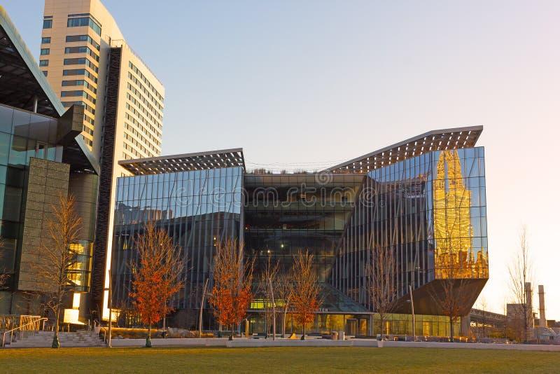 Tata Innovation building at sunrise. stock photo