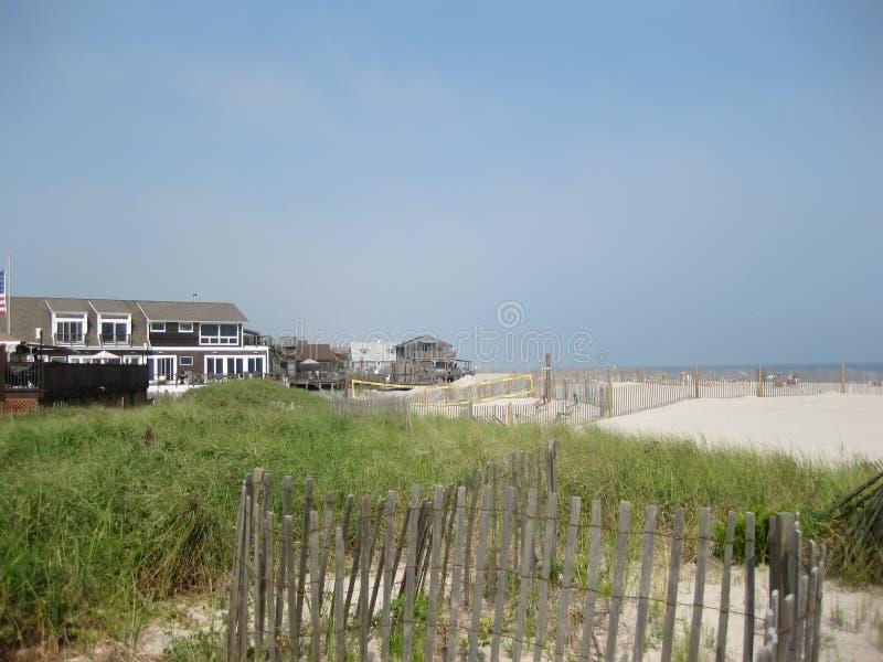 Fire Island Beach. New York, USA - June 21, 2017: Fire island beach stock photos