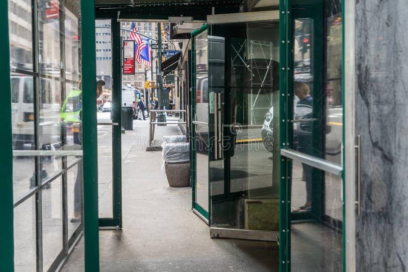 NEW YORK, USA - 5. MAI 2018: Grand Central -Innenraum in Manhattan, New York City lizenzfreie stockfotografie