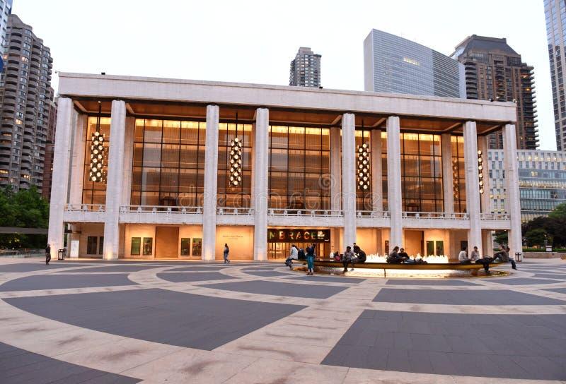 New York, USA - May 29, 2018: David H Koch Theater, New York Cit stock photography