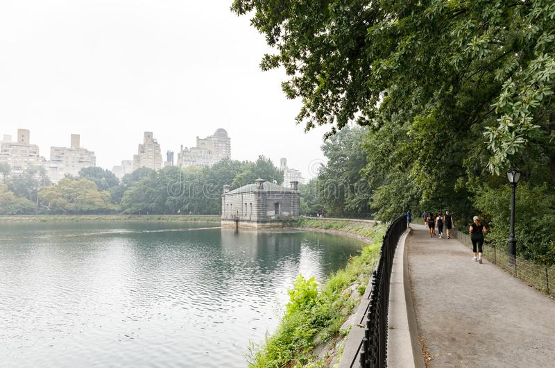 Central park in NYC stock photos