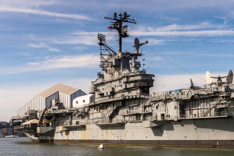 Intrepid Sea, Air and Space Museum, New York royalty free stock photography