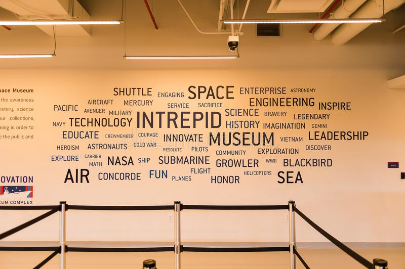 Intrepid Sea, Air and Space Museum, New York stock photography