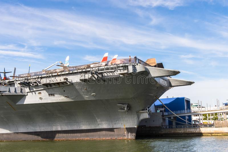 Intrepid Sea, Air and Space Museum, New York royalty free stock photos