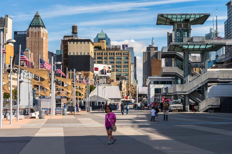 Intrepid Sea, Air and Space Museum, New York stock image