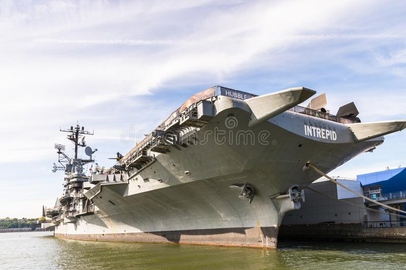 Intrepid Sea, Air and Space Museum, New York stock photos