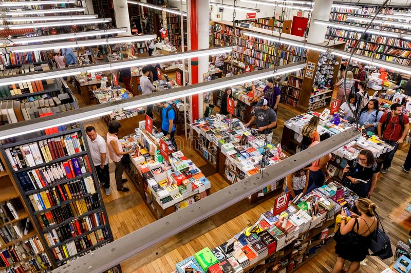 The Strand Book Store royalty free stock photos