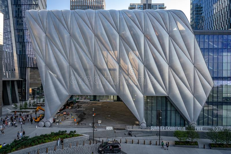 New York, USA - The Shed building stock images