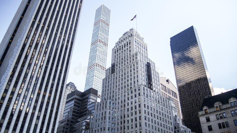 New York van de binnenstad royalty-vrije stock fotografie