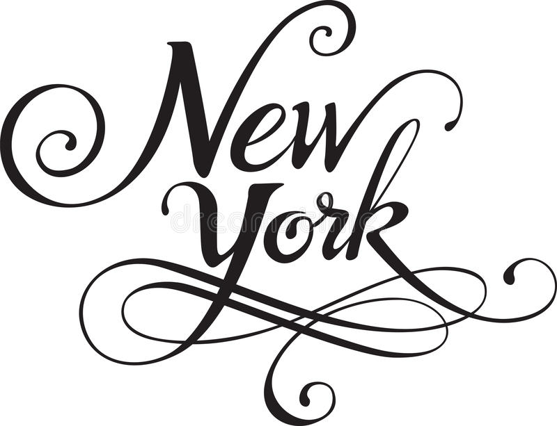 New York Stock Vector Illustration Of Curve Shape