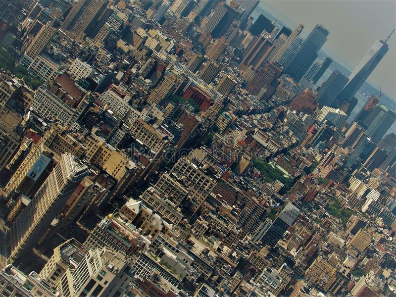 New York view royalty free stock images