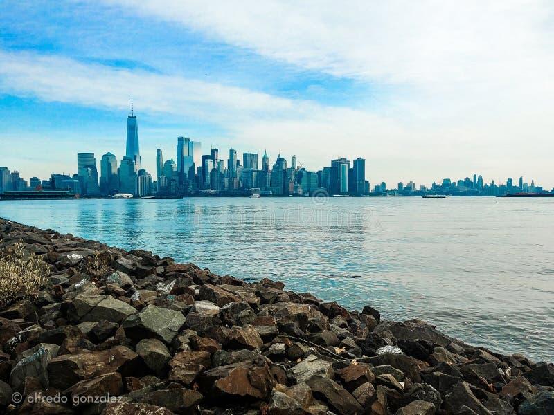New York von New-Jersey lizenzfreie stockfotografie