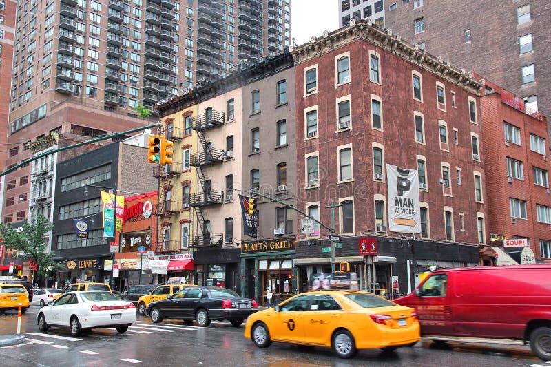 New York, Weg Acht royalty-vrije stock afbeeldingen