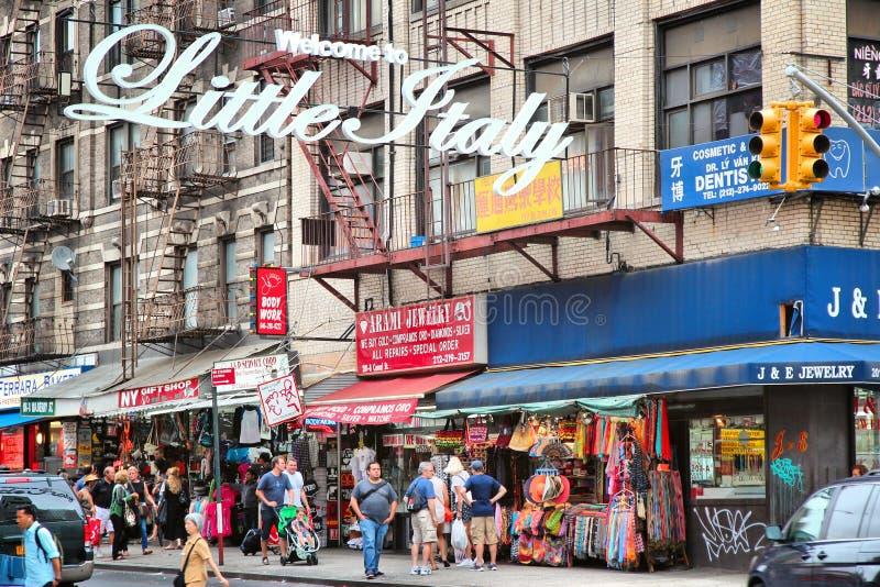 New York wenig Italien stockbilder