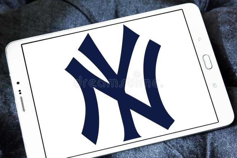 New York Yankees, logo ny de club de sports image libre de droits