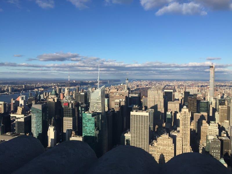 New- Yorkansicht lizenzfreie stockfotografie