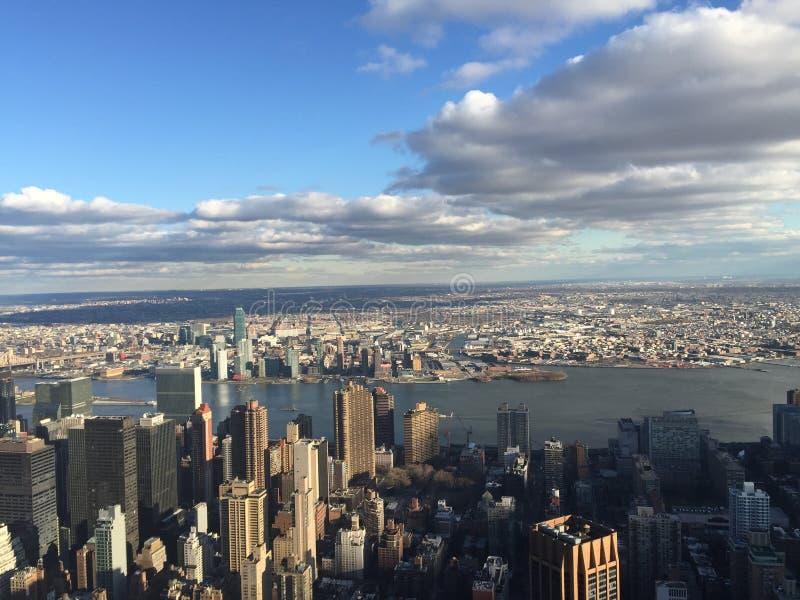 New- Yorkansicht lizenzfreie stockbilder