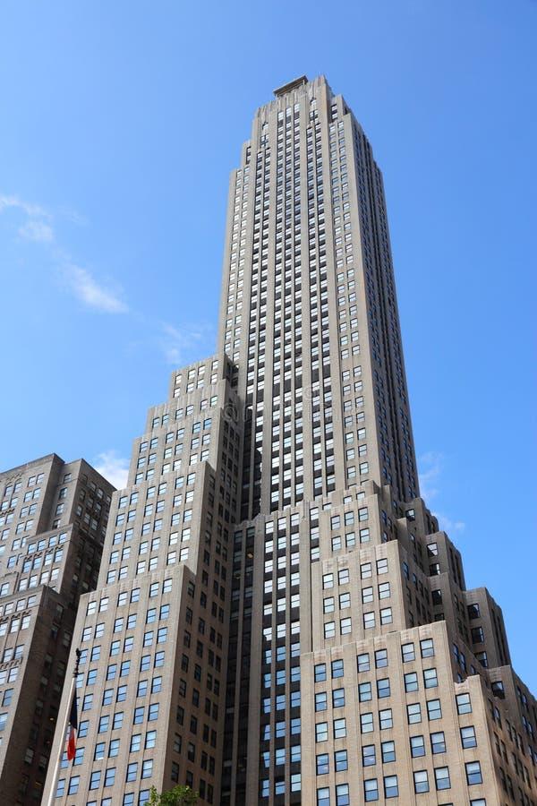 New- Yorkart deco lizenzfreies stockfoto