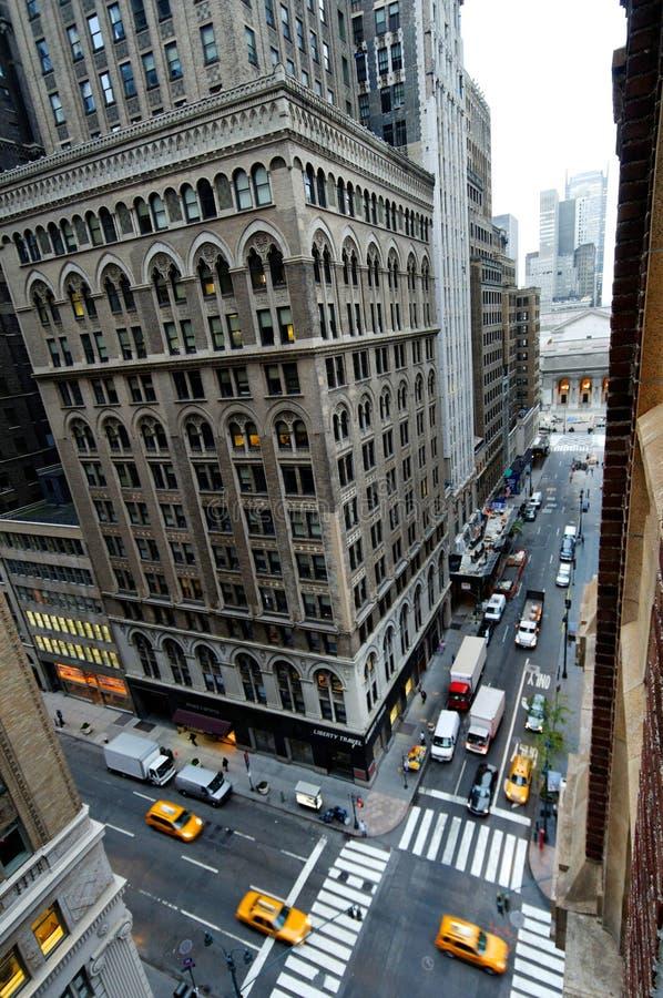 New- Yorkbibliothek stockbild