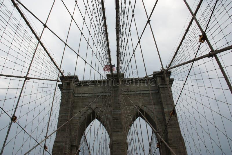 New- YorkBrooklyn-Brücke stockbilder