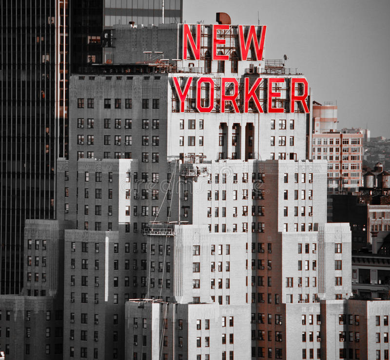 New Yorker Hotel. The 43-story New Yorker Hotel (481 Eighth Avenue, New York City) was built in 1929 and opened its doors on January 2, 1930. It was designed by stock images