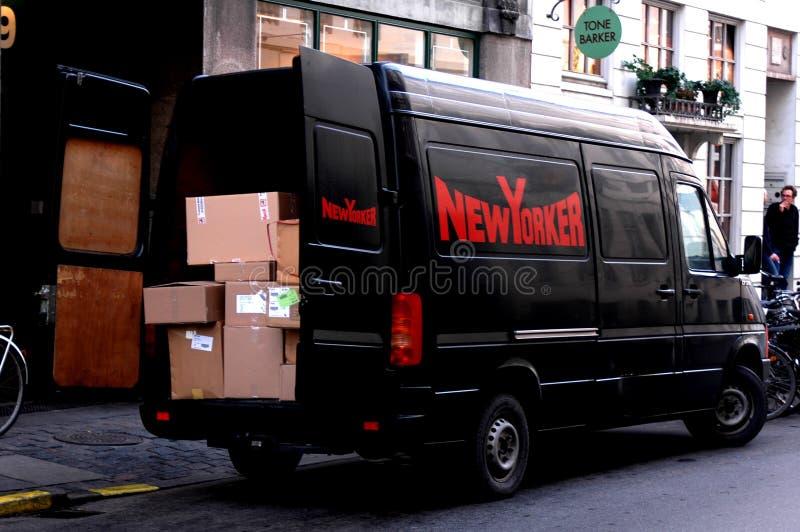 NEW- YORKERlastwagen stockbild