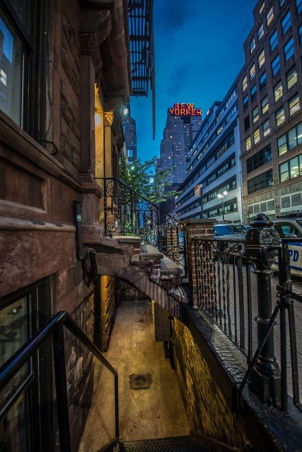 New- Yorkerzeichen lizenzfreie stockfotos