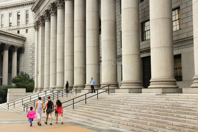 New- Yorkgericht lizenzfreie stockfotografie