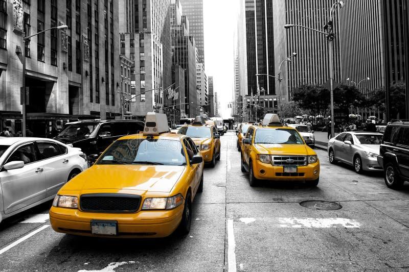 New- Yorkrollen stockfotos