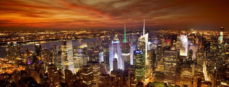 New- YorkSkyline stockfotos