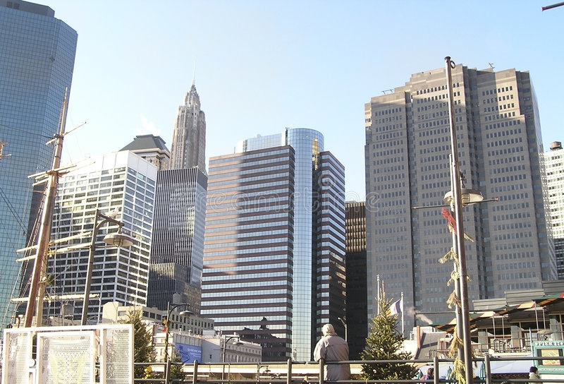 New- YorkSkyline 7 lizenzfreie stockfotos