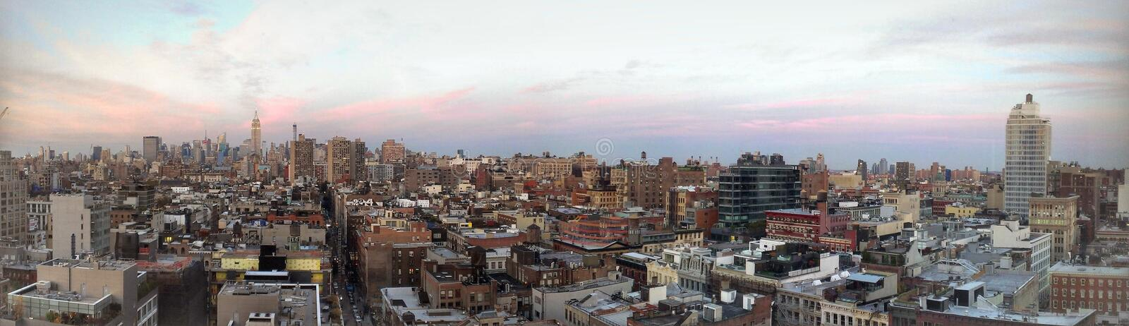 New- YorkSkyline-Ansicht stockfoto