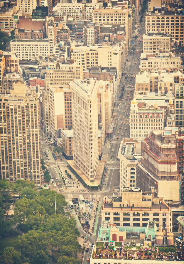 New- Yorkstraßen lizenzfreies stockbild
