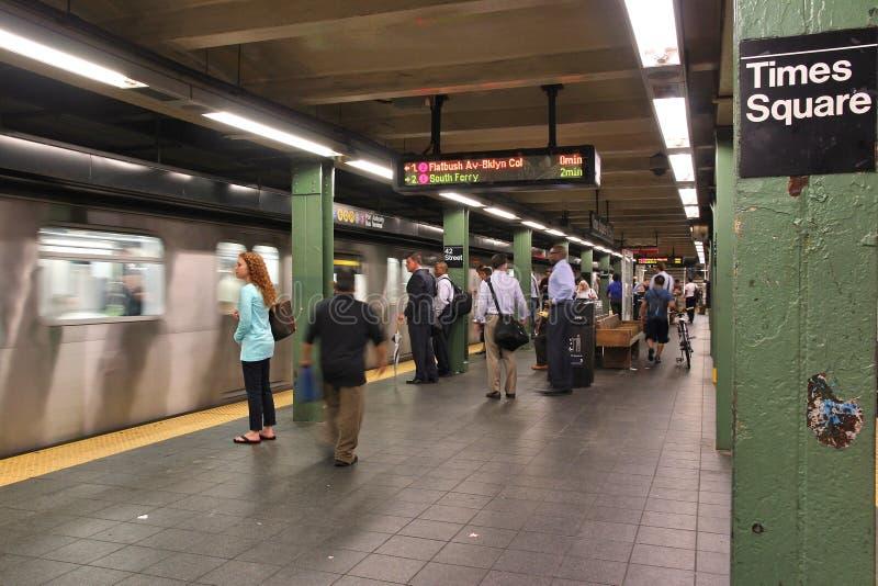 New- Yorku-bahn lizenzfreie stockbilder