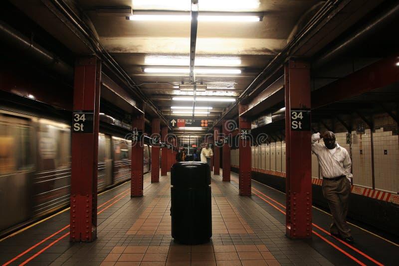 34. New- Yorku-bahnstation stockfotografie