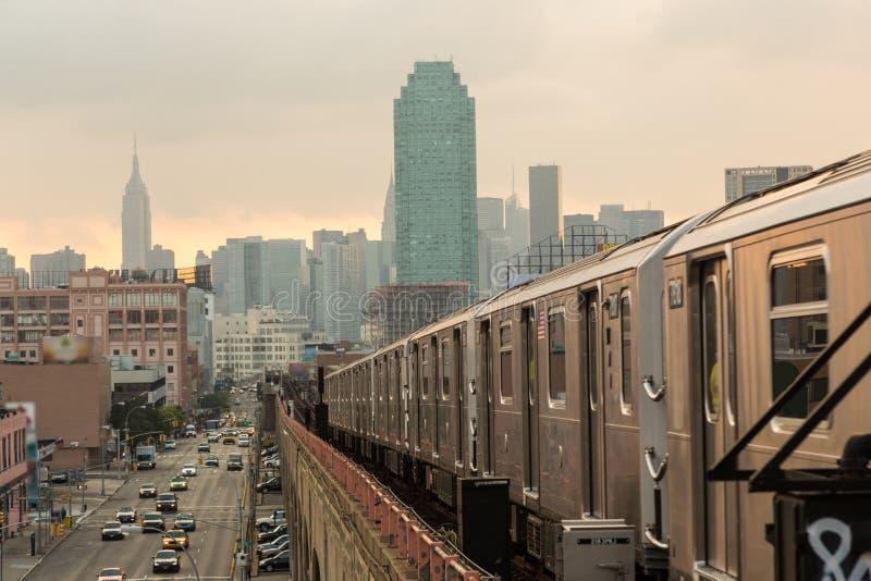 New- Yorkuntergrundbahn lizenzfreie stockfotografie