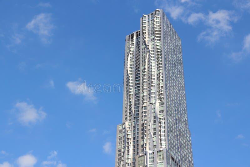 New- Yorkwolkenkratzer lizenzfreies stockfoto
