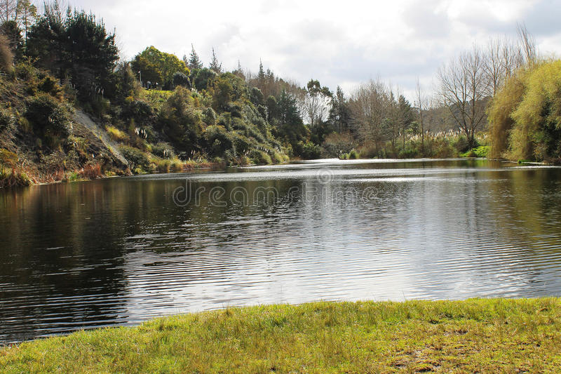 New Zealand湖 图库摄影