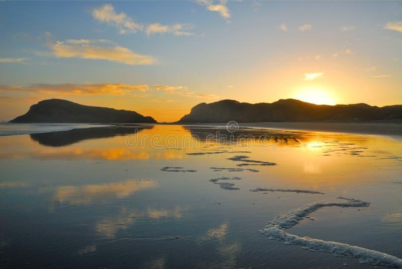 New Zealand Beach royalty free stock photo