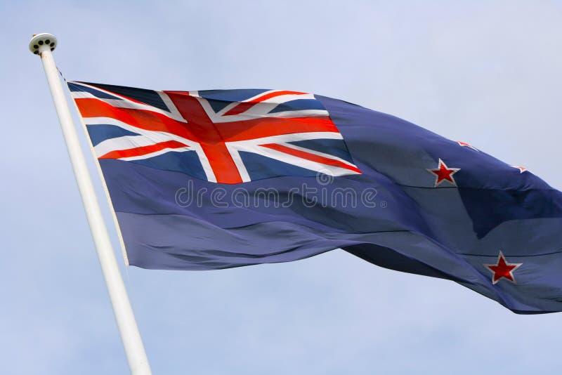 Download New Zealand flag stock photo. Image of jack, zealand, flying - 1549836