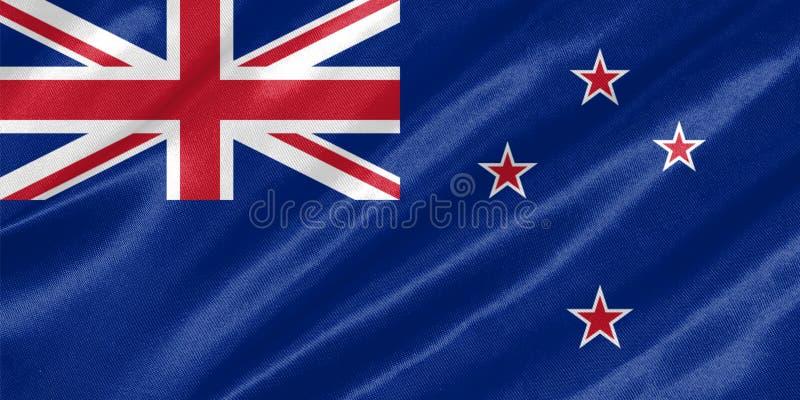 New Zealand Flag royalty free stock photography