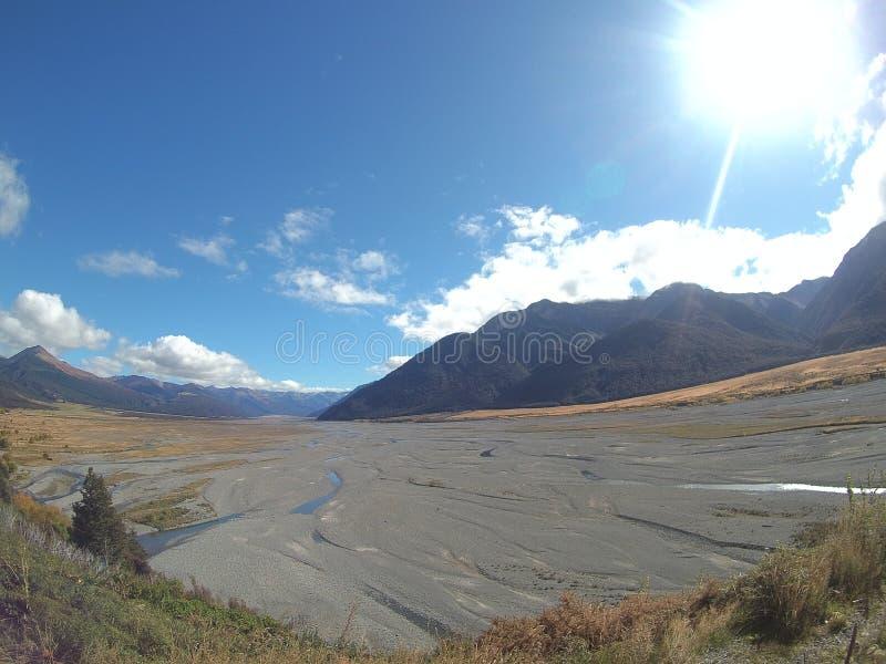 New Zealand Iconic Landscape 2. Iconic Raw landscape photo of New Zealand stock images