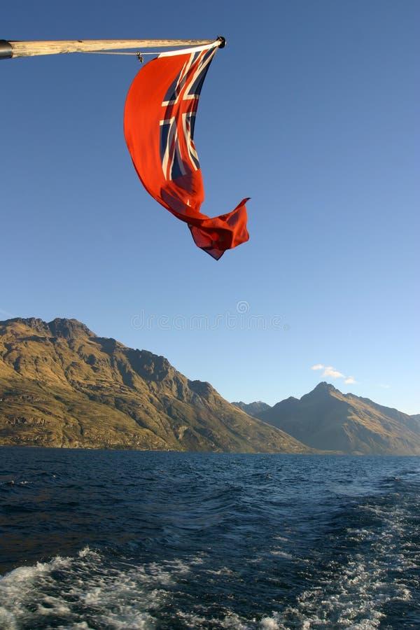 New Zealand maritime flag royalty free stock photo