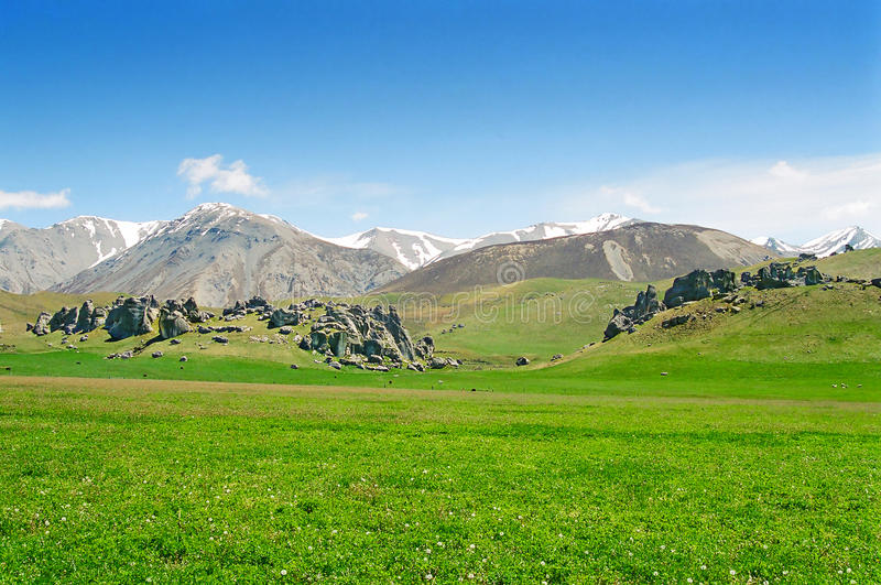 Download New Zealand Mountains, Hills And Rocks Stock Photo - Image: 13492814