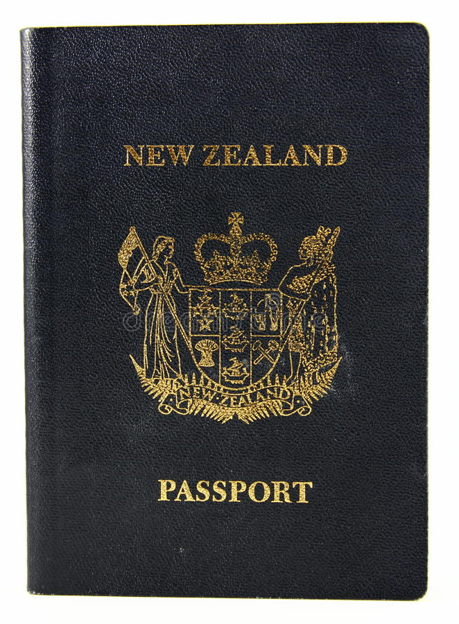 Download New Zealand Passport - Old Style Stock Image - Image: 20484887