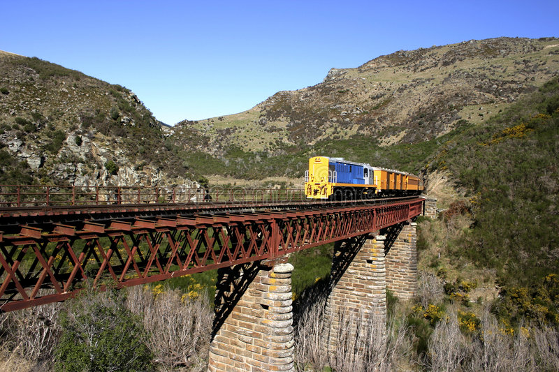 Download New Zealand Railway stock photo. Image of landscape, track - 2685624