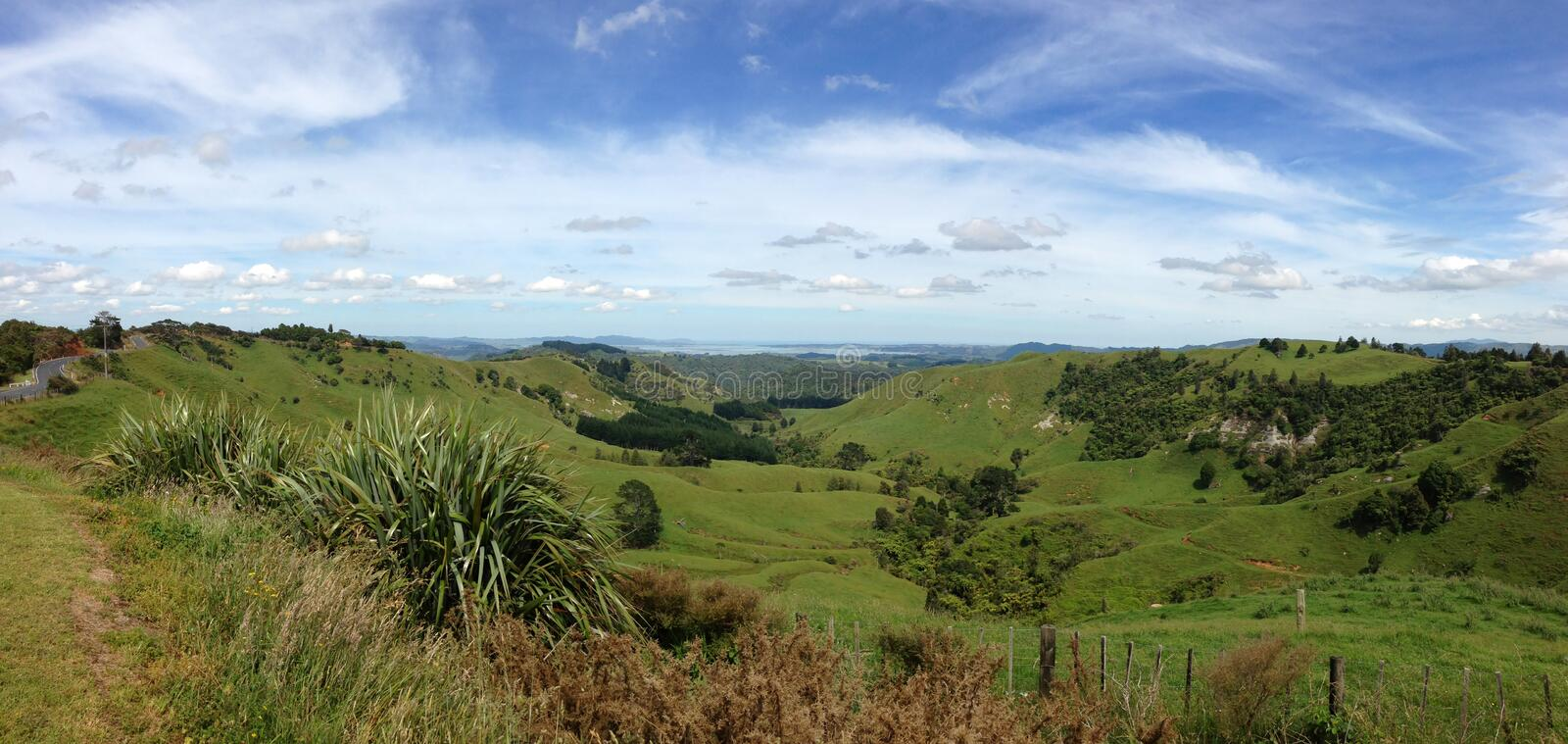 Download New Zealand scene stock image. Image of rural, tranquil - 28577593