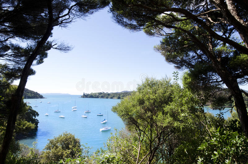 New Zealand Travel Photos - Bay of Islands royalty free stock photo